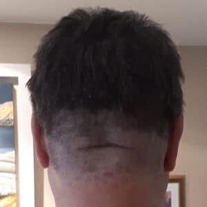 Grumpy's lockdown haircut